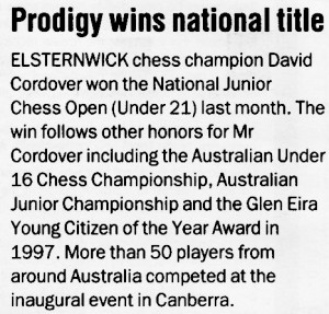 Prodigy wins national title